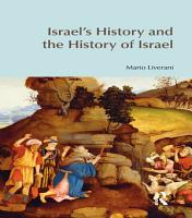 Israel s History and the History of Israel PDF