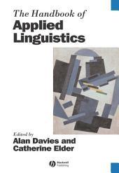 The Handbook of Applied Linguistics