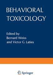 Behavioral Toxicology