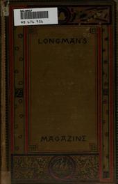 Longman's Magazine: Volume 16