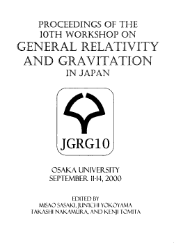Proceedings of the 10th Workshop on General Relativity and Gravitation PDF