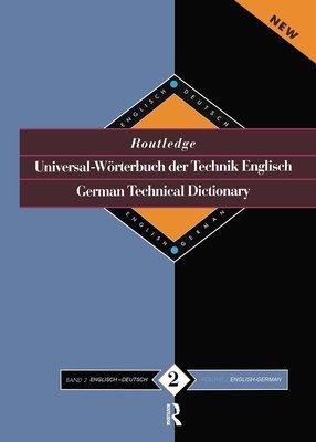 German English English German Technical Dictionary