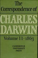 [The correspondence ] ; The correspondence of Charles Darwin. 11. 1863
