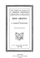 The Complete Works of F. Marion Crawford: Volume 12