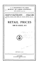 Retail Prices and Cost of Living Series: Issues 11-14