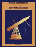 William H Vanderbilt s Gift of an Egyptian Obelisk  Cleopatra s Needle PDF