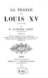 La France sous Louis XV: (1715-1774)