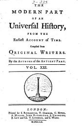 An Universal History, from the Earliest Account of Time: Volume 42