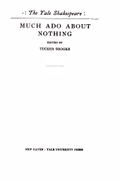 Much Ado about Nothing: Volume 9