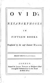 Ovid's Metamorphoses in Fifteen Books