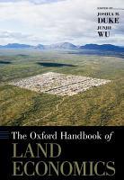 The Oxford Handbook of Land Economics PDF