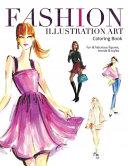 Fashion Illustration Art Coloring Book PDF