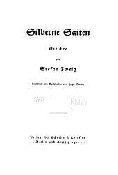 Silberne Saiten: Gedichte