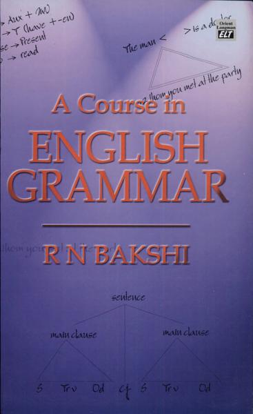 A Course In English Grammar