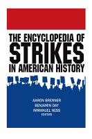 The Encyclopedia of Strikes in American History PDF