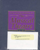 Download The Encyclopedia of the Musical Theatre Book