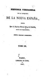 Historia verdadera de la conquista de la Nueva España: Volumen 3