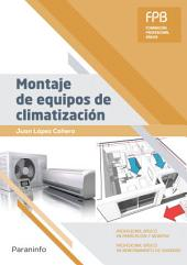 Montaje de equipos de climatización
