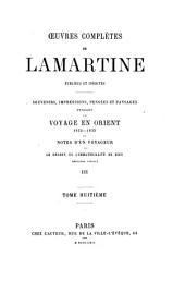 Voyage en Orient: Volume3