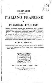 Dizionario portatile italiano-francese e francese-italiano: Volume 2