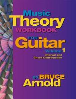 Music Theory Workbook for Guitar Volume One PDF