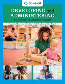 Developing and Administering an Early Childhood Education Program PDF