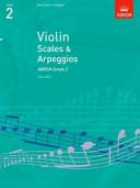 Violin Scales & Arpeggios Grade 2