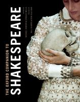 The Oxford Companion to Shakespeare PDF