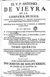Todos sus sermones y obras diferentes: que de su original portuguès se han traducido en castellano