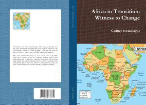 Africa in Transition  Witness to Change PDF