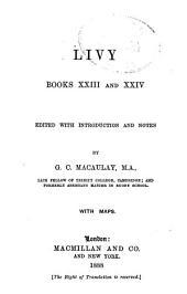 Ab Urbe Condita: Books 23-24