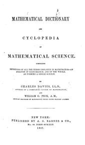 Mathematical Dictionary and Cyclopedia of Mathematical Science, etc