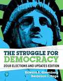 The Struggle for Democracy  2018 Elections and Updates Edition Revel Access Code PDF
