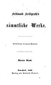Ferdinand Freiligrath's sämmtliche Werke: Band 4