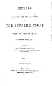 United States Reports: Cases Adjudged in the Supreme Court, Volume 52
