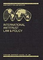 International Antitrust Law   Policy  Fordham Competition Law 2012 PDF