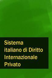 Sistema italiano di Diritto Internazionale Privato