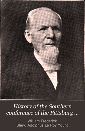 History of the Southern Conference of the Pittsburg Synod of the Evangelical Lutheran Church