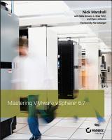 Mastering VMware vSphere 6 7 PDF