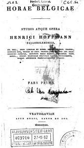 De antiquioribus Belgarum literis