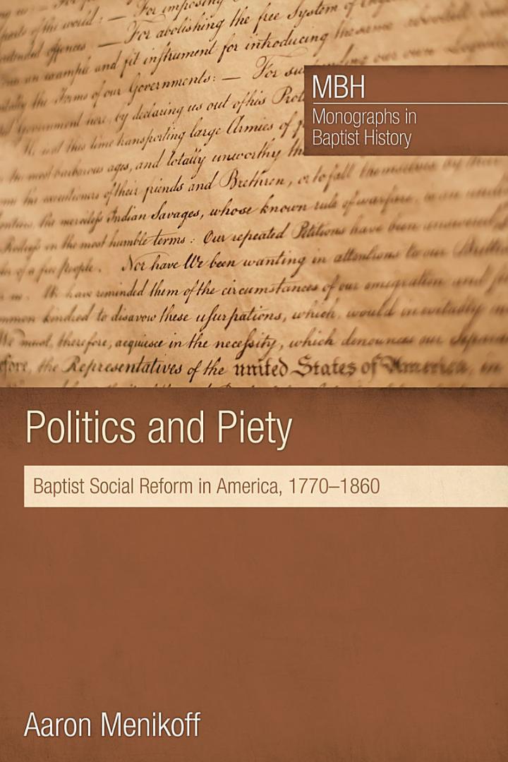 Politics and Piety