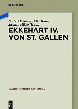 Ekkehart IV  von St  Gallen PDF