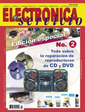 Electrónica y Servicio Edición Especial: Todo sobre la reparación de reproductores de CD y DVD