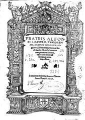 Fratris Alfonsi a Castro ... De iusta haereticorum punitione libri tres