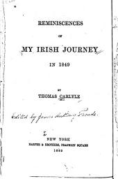 Reminiscences of My Irish Journey in 1849