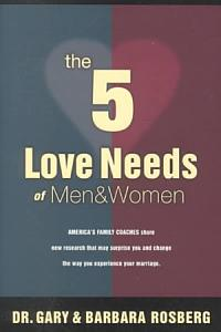 The 5 Love Needs of Men and Women Book