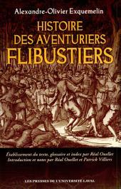 Histoire des aventuriers flibustiers
