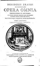 Opera omnia emendatiora et auctiora: Volume 2