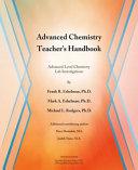 Advanced Chemistry Lab Investigations Teacher s Handbook PDF