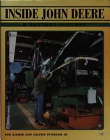Inside John Deere   A Factory History PDF